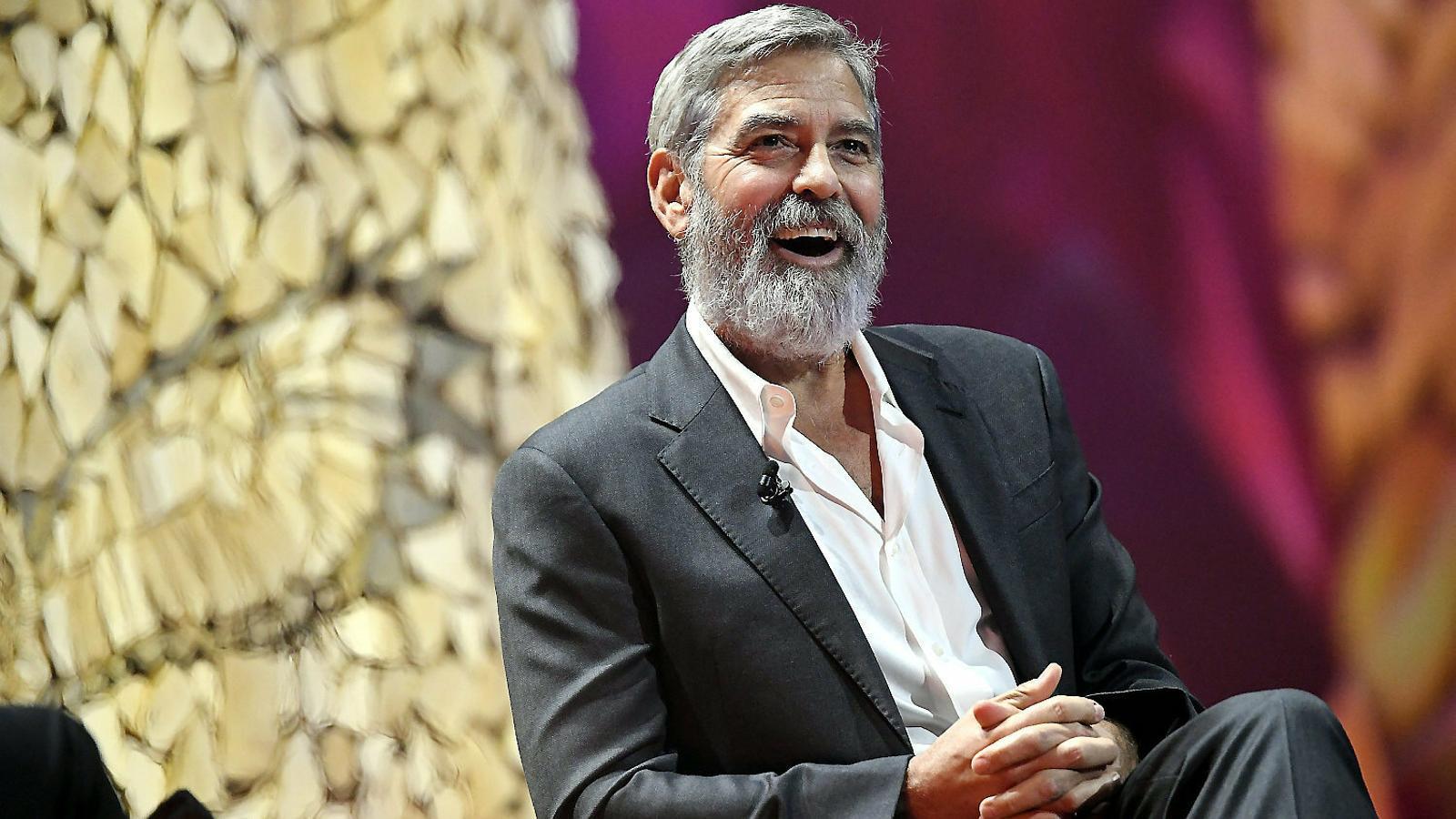 George Clooney,  de rodatge a La Palma