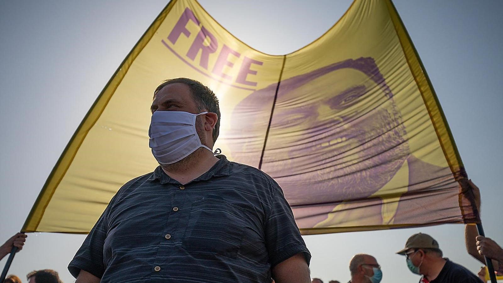"""Junqueras qüestiona l'estratègia de Puigdemont i creu que la confrontació ara és anar """"a perdre"""""""