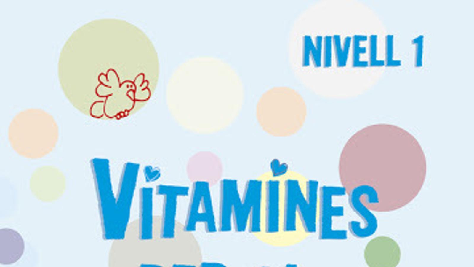 Portada d'un dels títols 'Vitamines pel cervell'