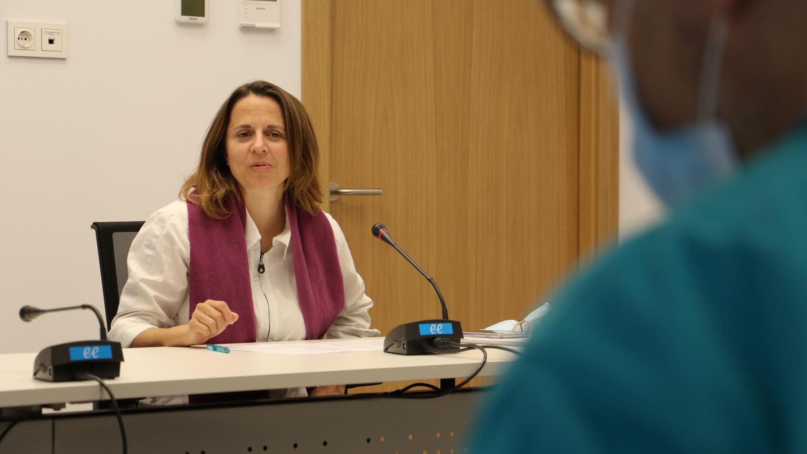 La cònsol major d'Escaldes-Engordany, Rosa Gili. / E.C. (ANA)