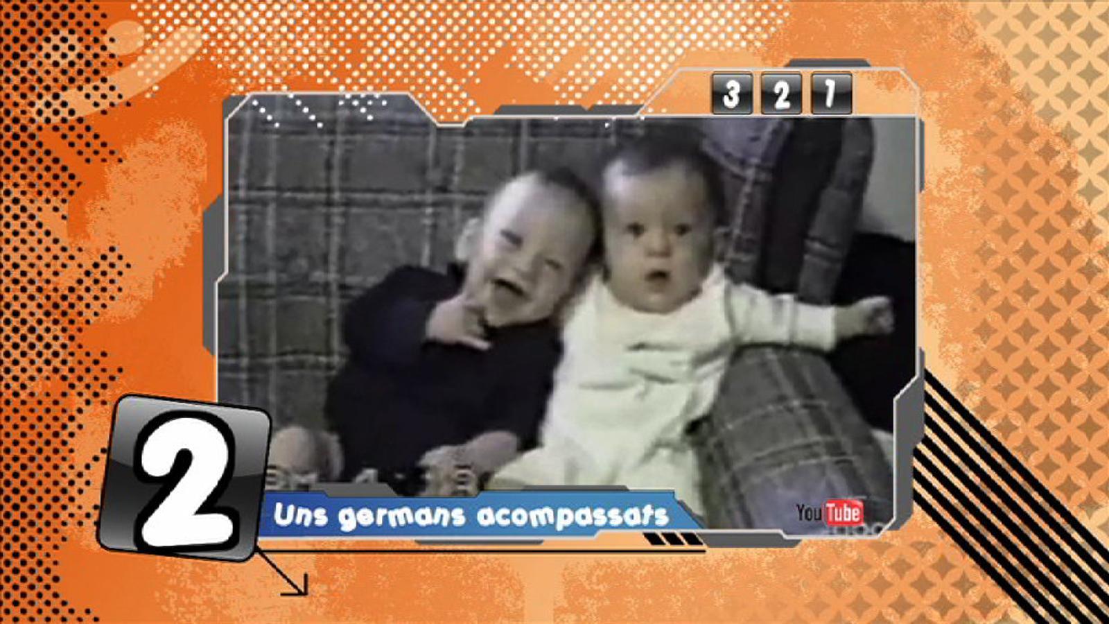 Criatures: 'El germà xumet', un vídeo del Youtube que encomana el riure