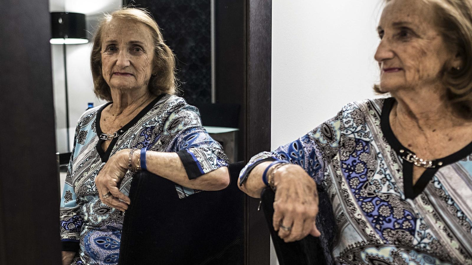 """Paquita Sitzer: """"Mai deia que era jueva, però no   Per vergonya, sinó perquè sentia terror"""""""