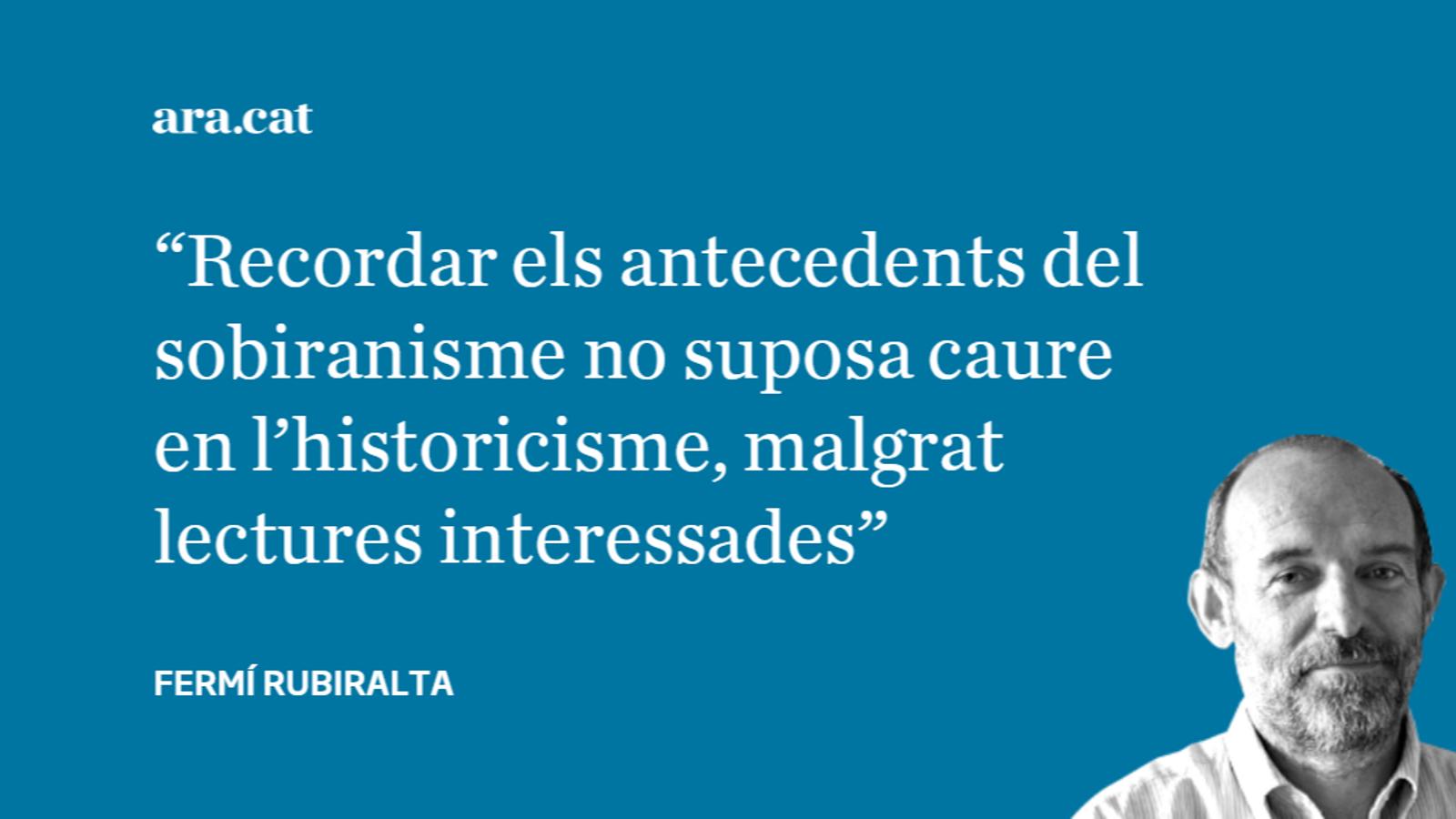 El president Torra i els referents històrics