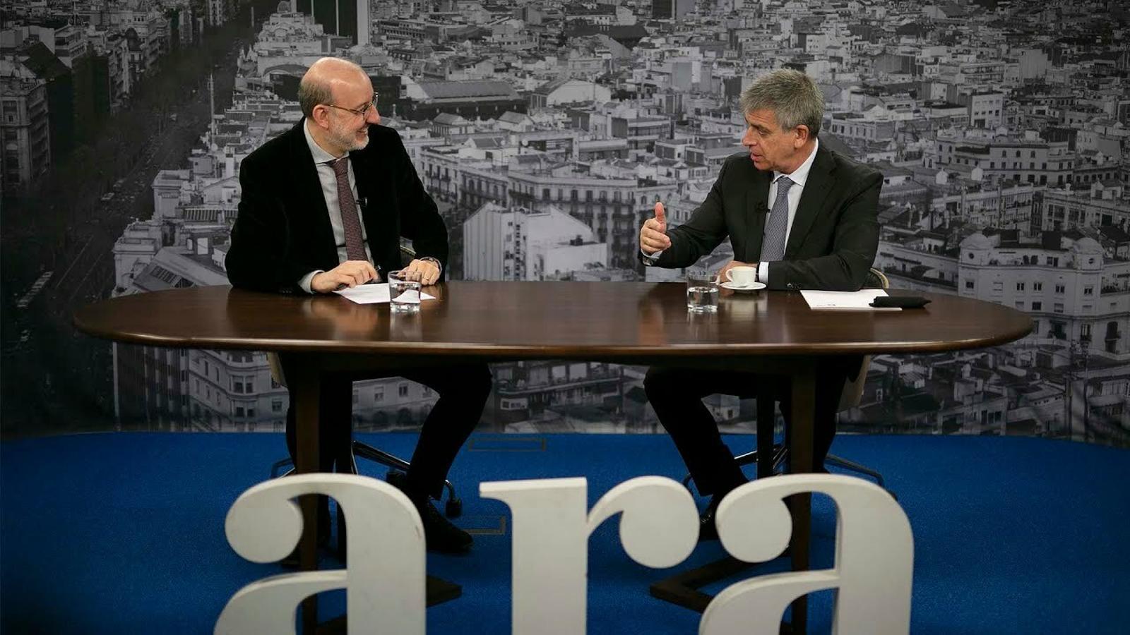 Entrevista d'Antoni Bassas a Jordi Mestre