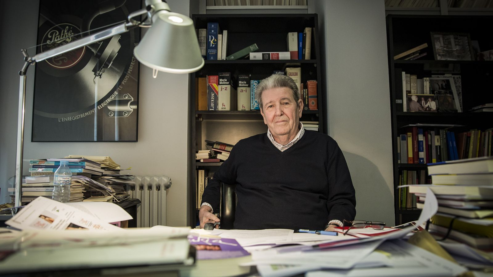 """Jorge Herralde: """"No se li pot demanar equilibri a un autor"""""""