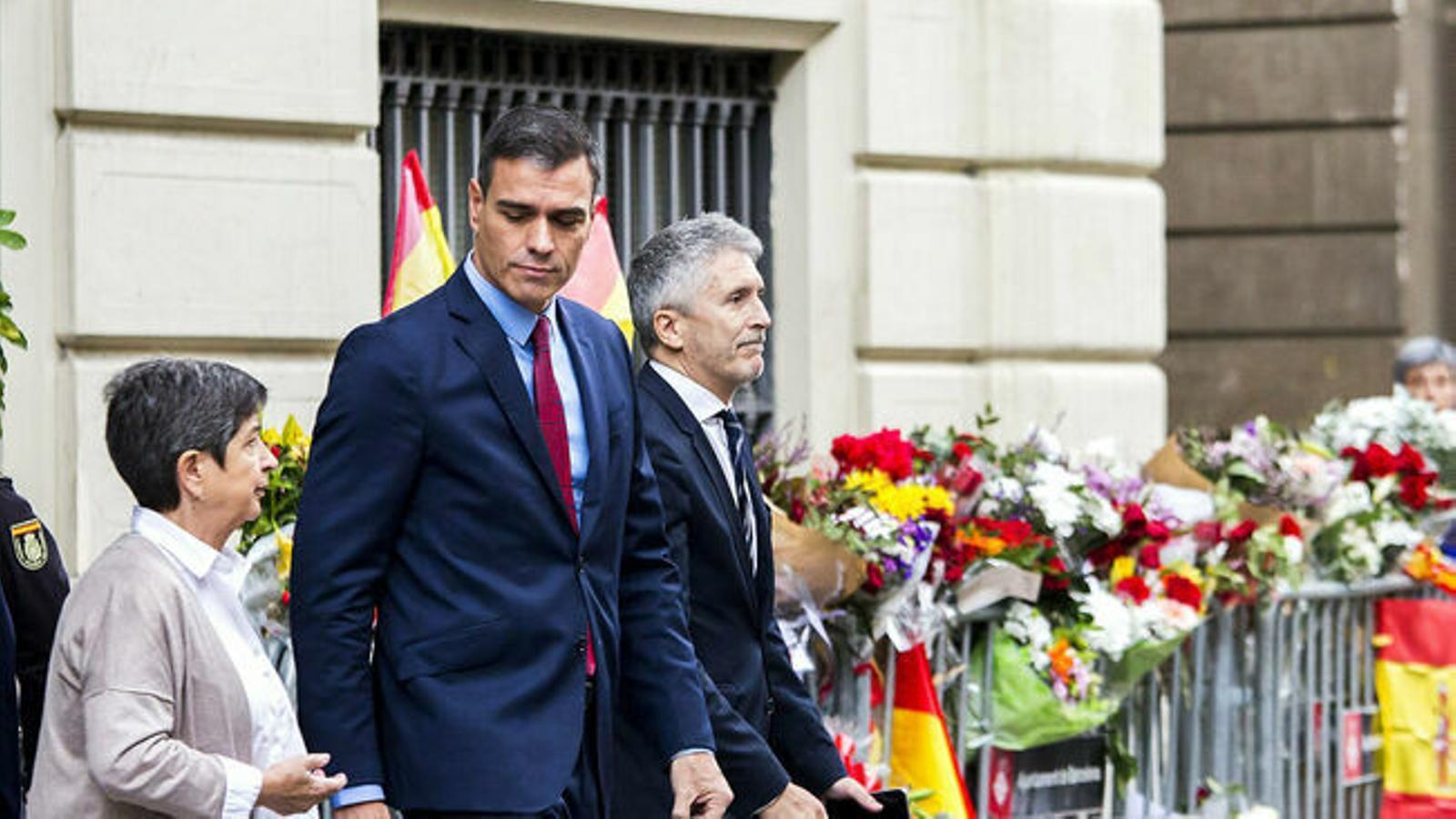 Sánchez ignora Torra tot i visitar Barcelona