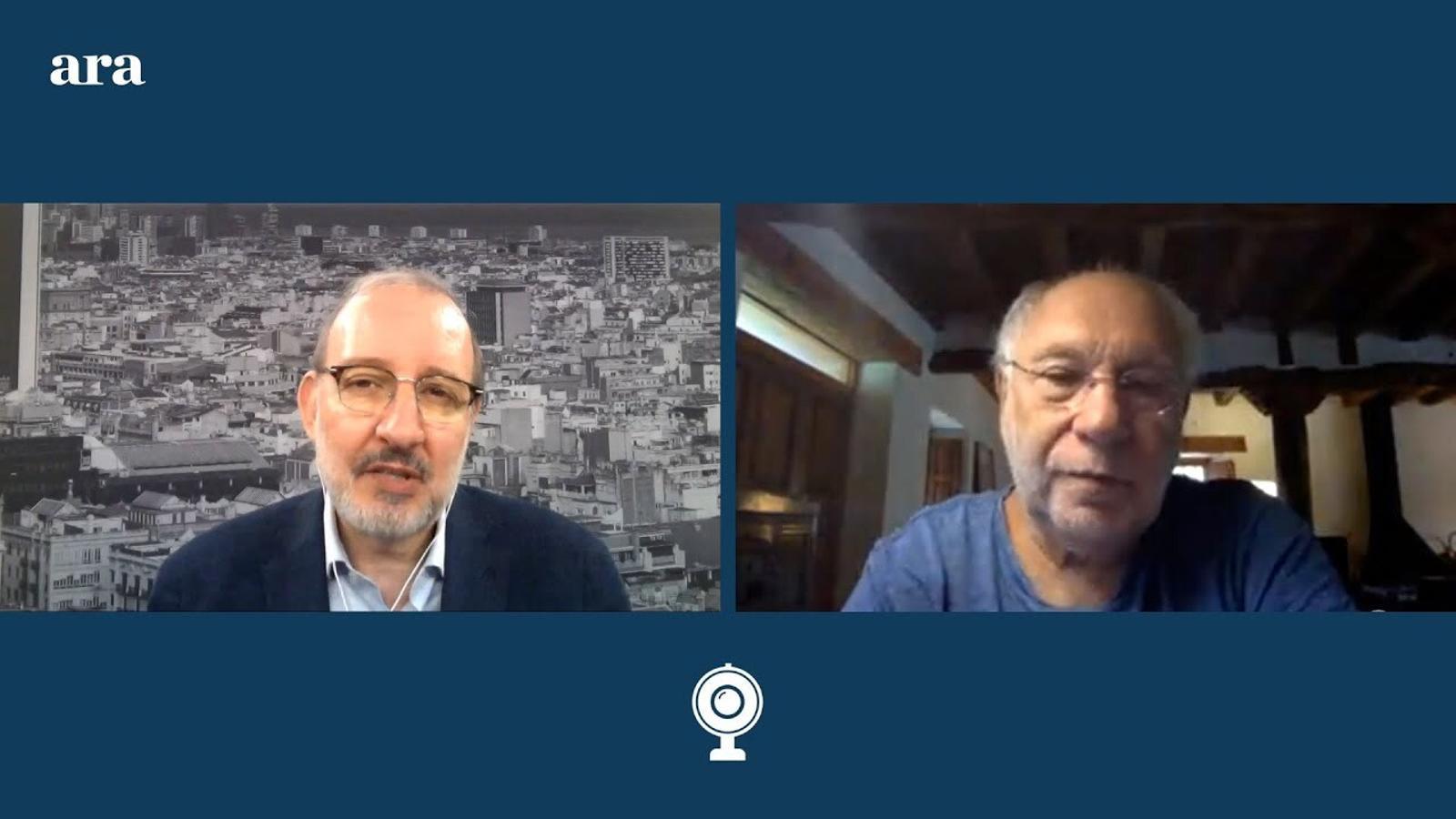 Entrevista d'Antoni Bassas a Ernesto Ekaizer