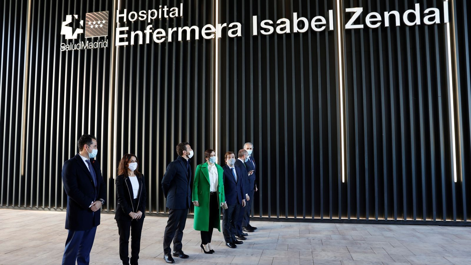 Madrid inaugurates new hospital amidst crowds and protestors