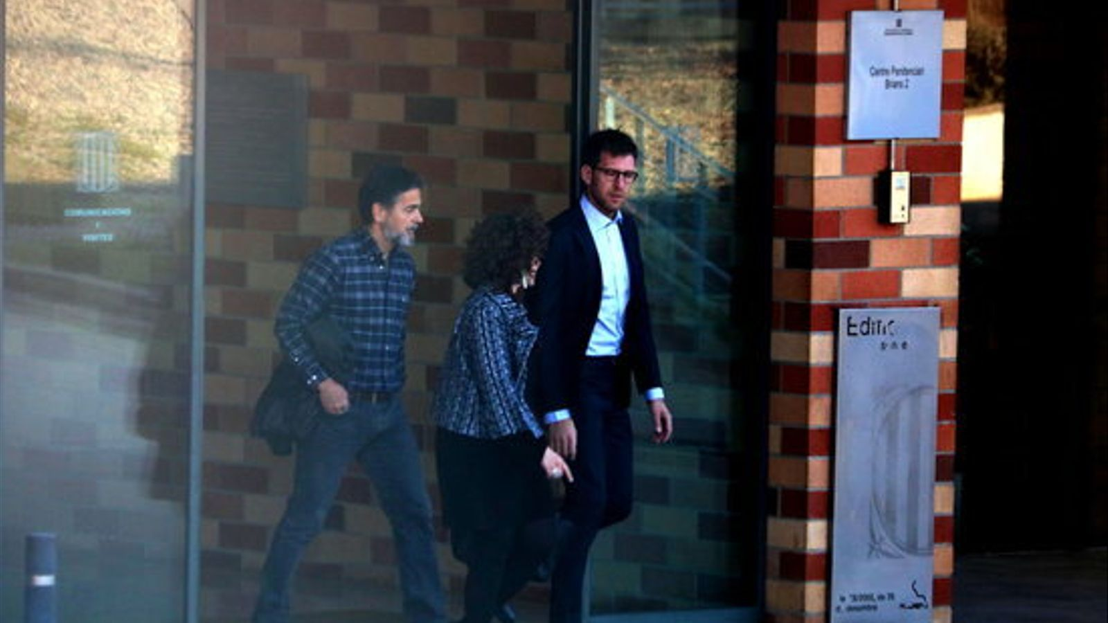 Oriol Pujol sortint de la presó de Brians el passat 29 de març