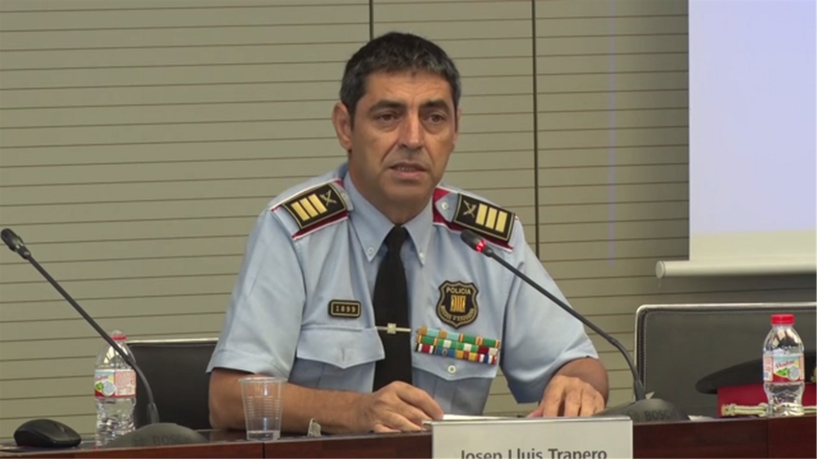 """El major dels Mossos comunica als agents que no accepta ser """"tutelat"""" pel ministeri de l'Interior"""