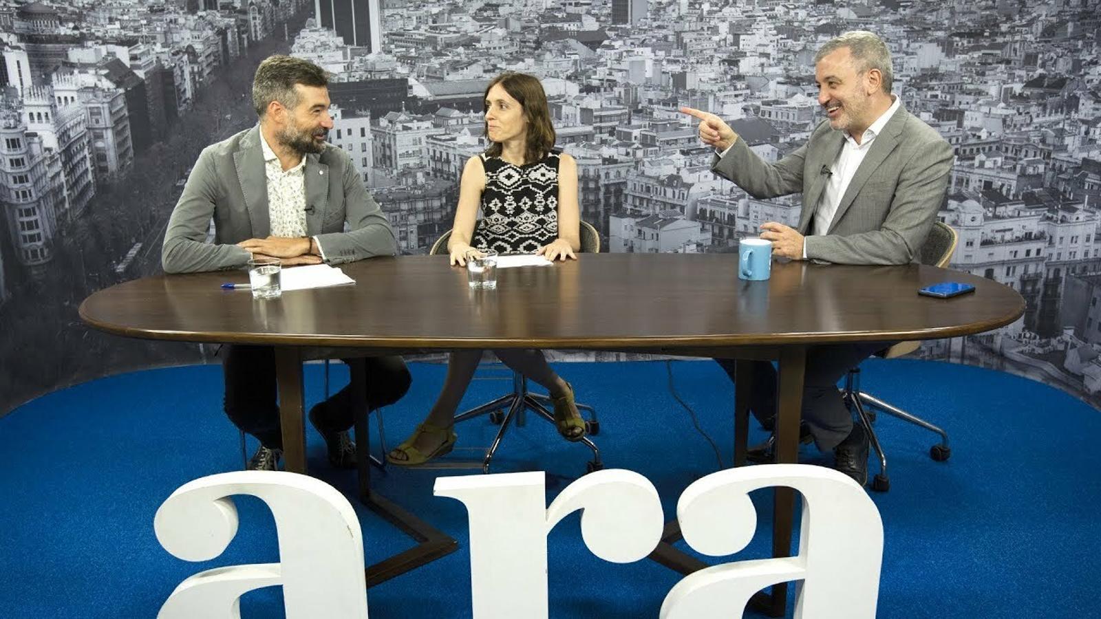 Entrevista de Jordi Mumbrú i Maria Ortega a Jaume Collboni