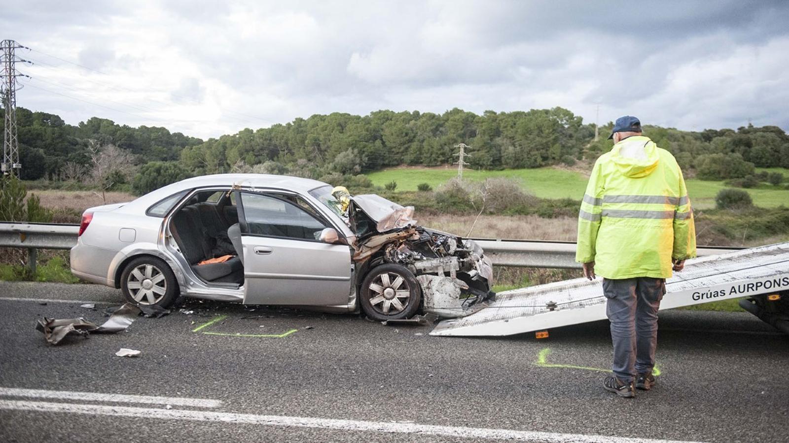 Amb aquesta ja són 5 les víctimes mortals a la carretera de Menorca durant el 2018.