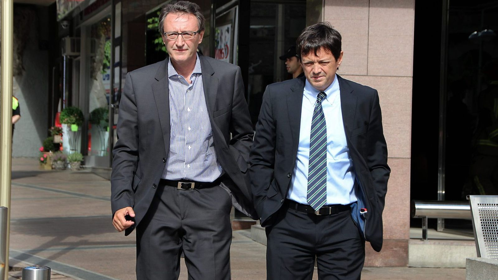 Els germans Higini i Ramon Cierco eren els presidents de la BPA fins que van ser apartats de la cúpula del banc arran de la intervenció.