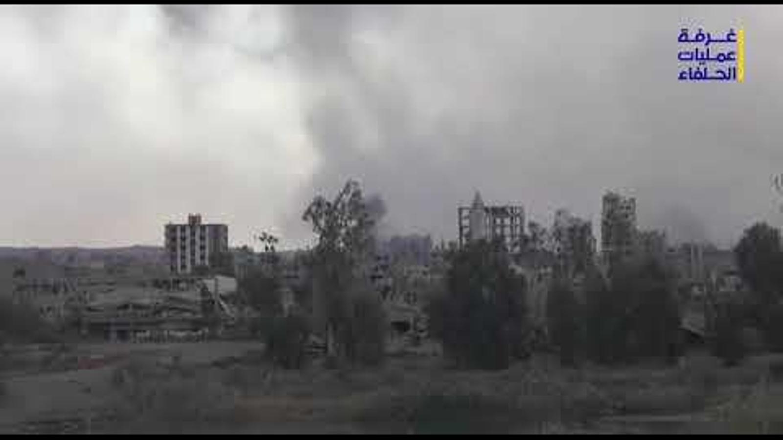Imatges de la presa de la ciutat de Deir al-Zor del 2 de novembre del 2017