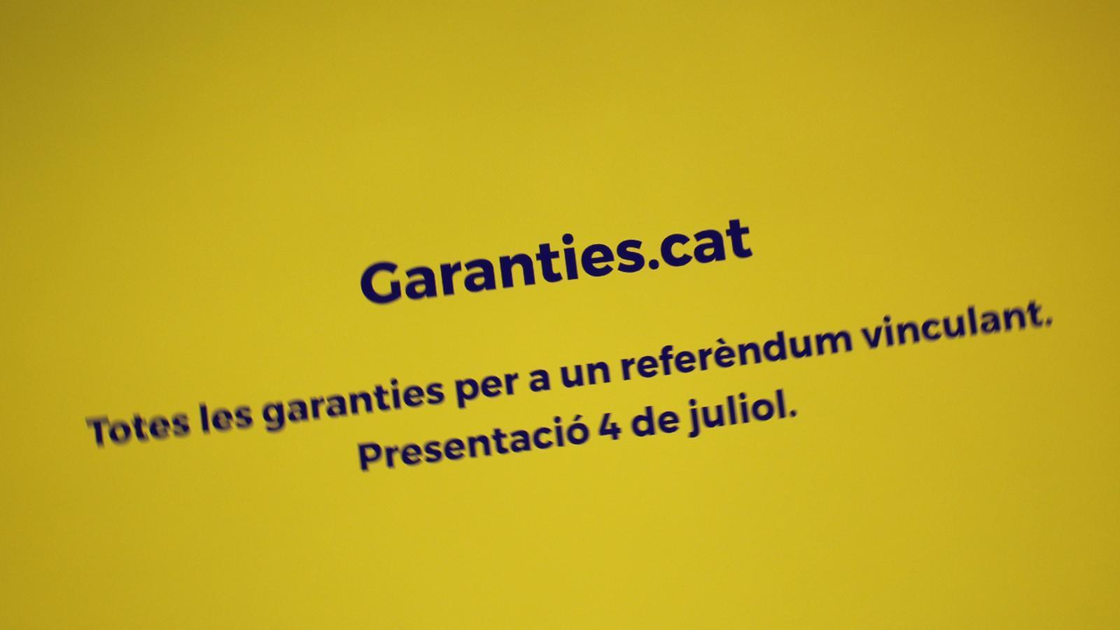 L'anàlisi d'Antoni Bassas: 'Voleu garanties?'