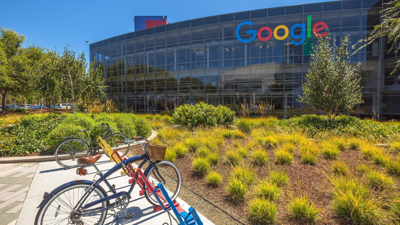 Imatge d'arxiu del Googleplex, la seu de Google a Mountain View, Califòrnia.