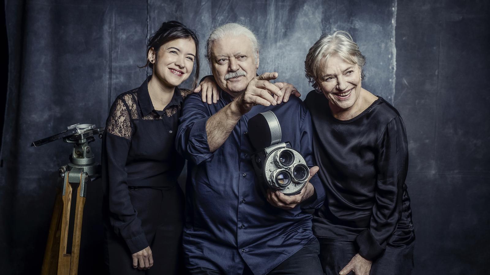 Mar Ulldemolins, Mario Gas i Serena Vergano interpreten 'Maestro Fellini'
