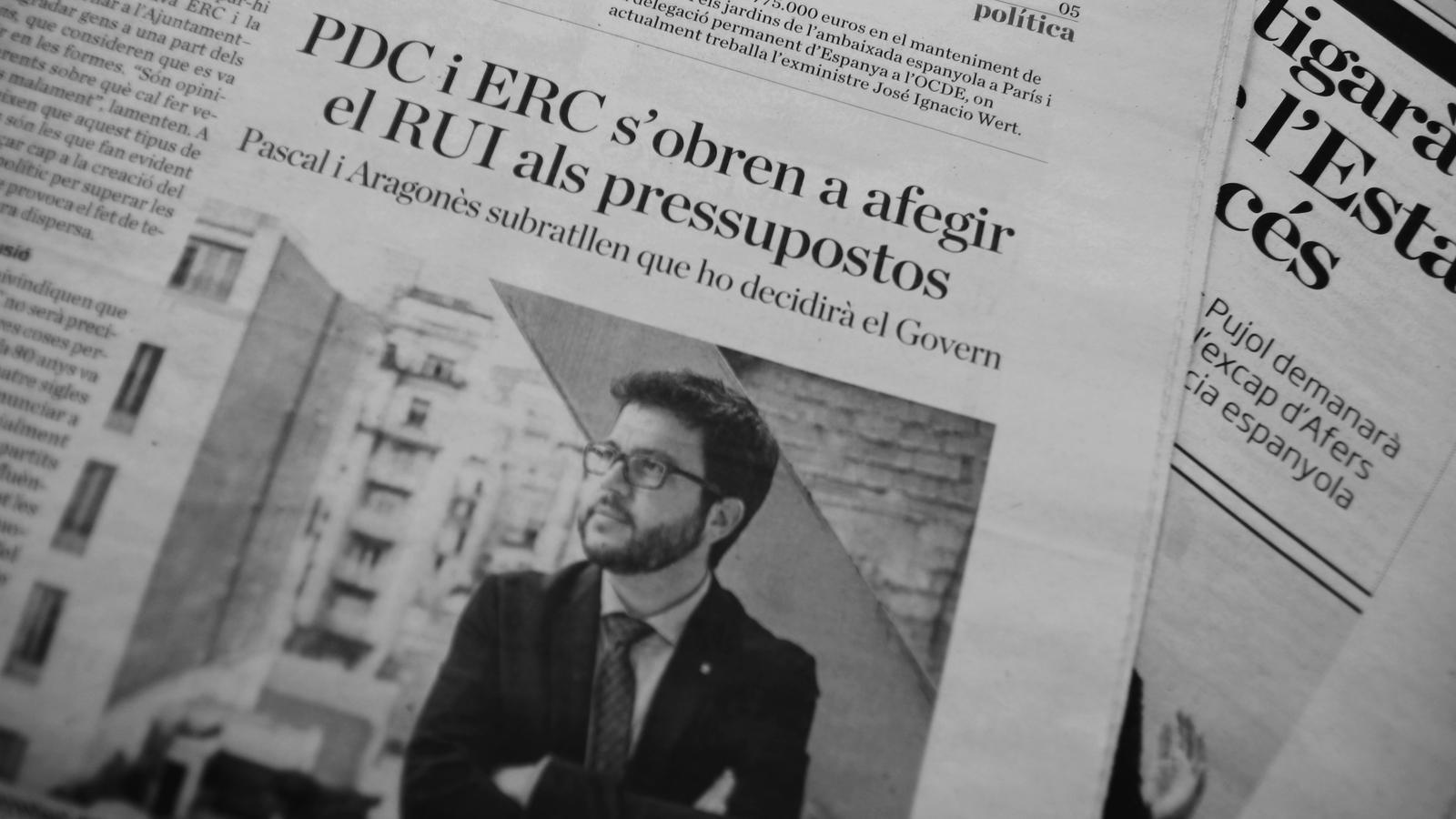 L'anàlisi d'Antoni Bassas: 'RUI, eixelebrats i solvents'