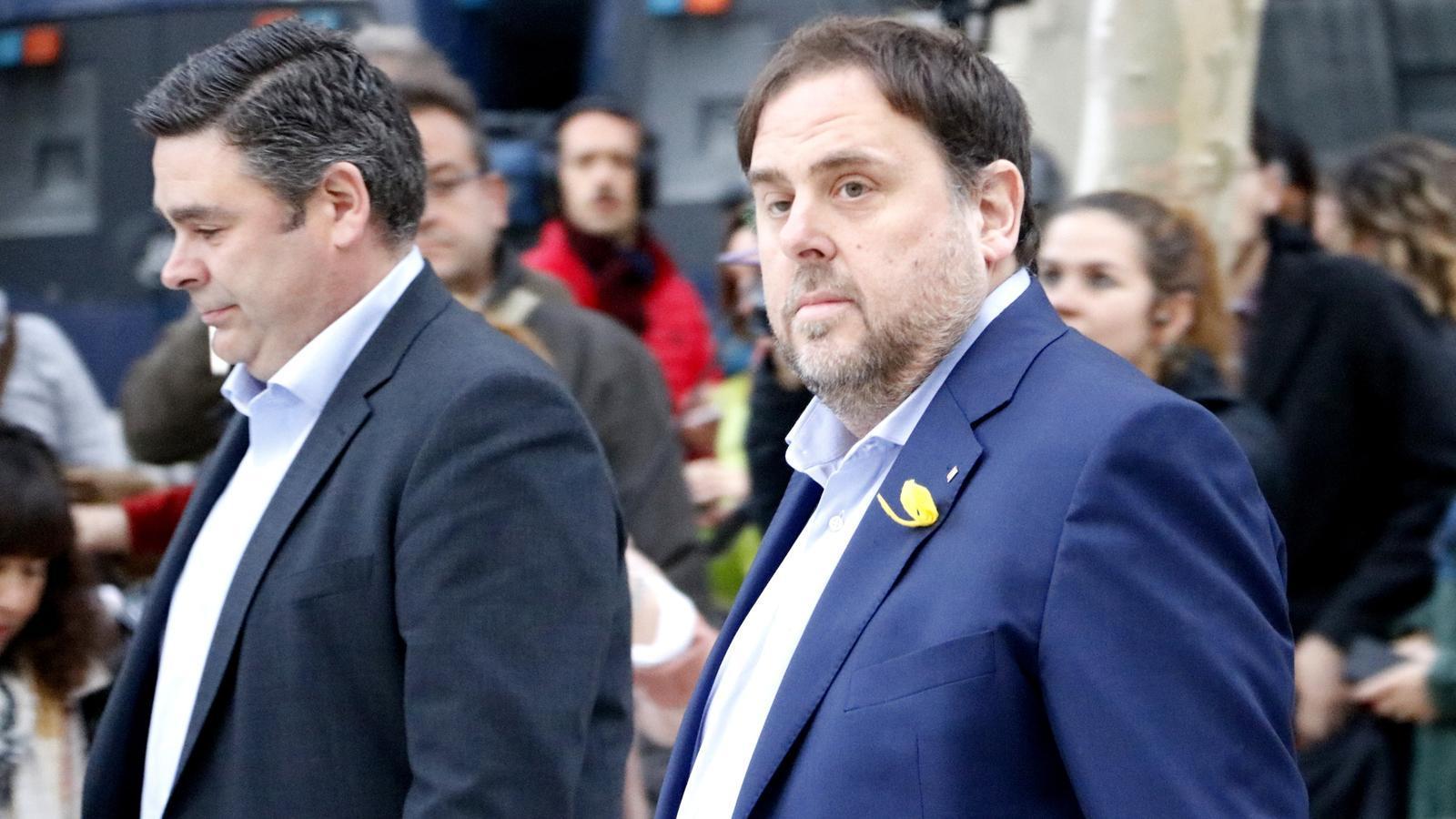 """Junqueras, des d'Estremera: """"És obvi que han torpedinat que el cap de llista d'ERC pugui ser visible a les eleccions"""""""