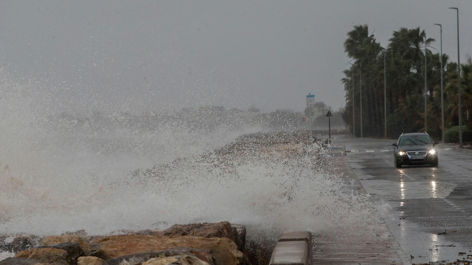 El temporal està afectant tota la península