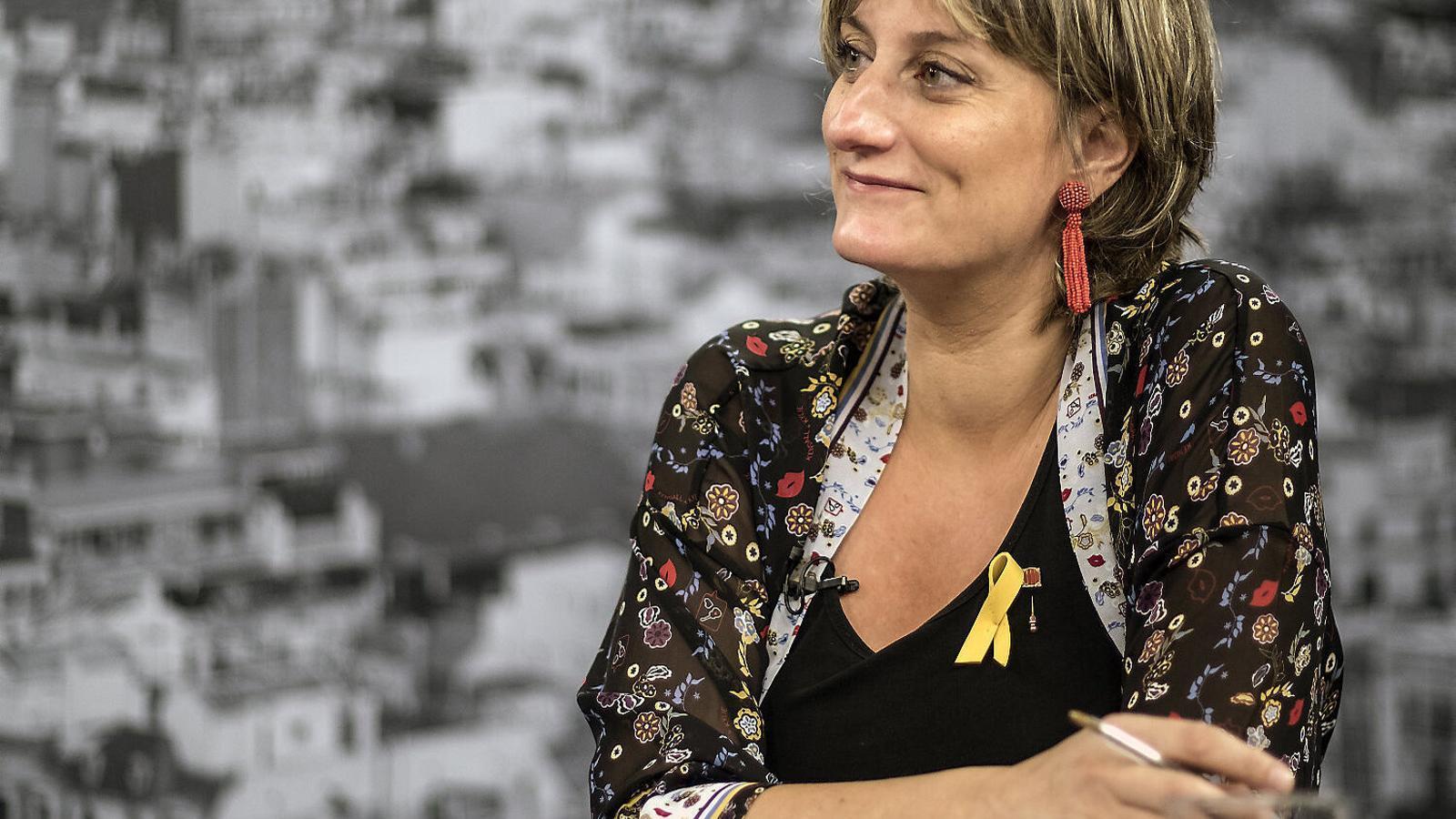 La consellera de Salut, Alba Vergés, compareix al Parlament per fer balanç de la pandèmia.