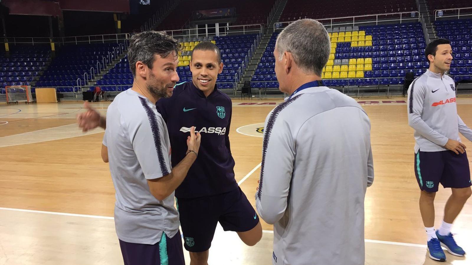 El Palau Blaugrana acollirà la 'ronda d'elit' de la Futsal Champions League